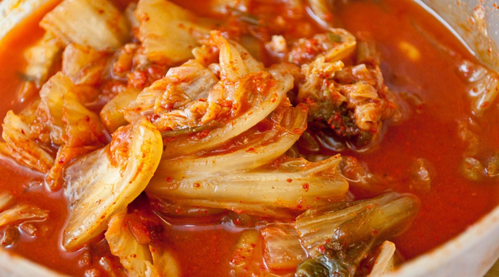 Kimchi - varză murată în stil coreean