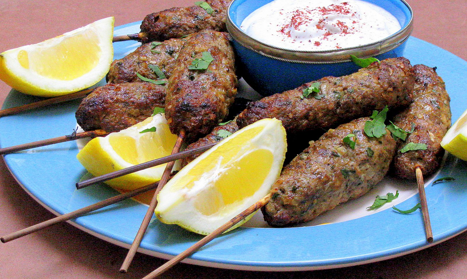 Kofte (chifteluțe turcești) din carne de vită