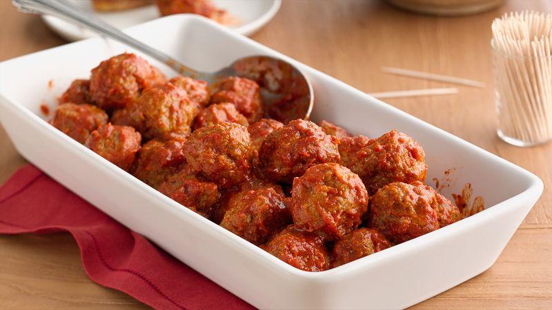 Chifteluțe italienești cu carne de vită și curcan