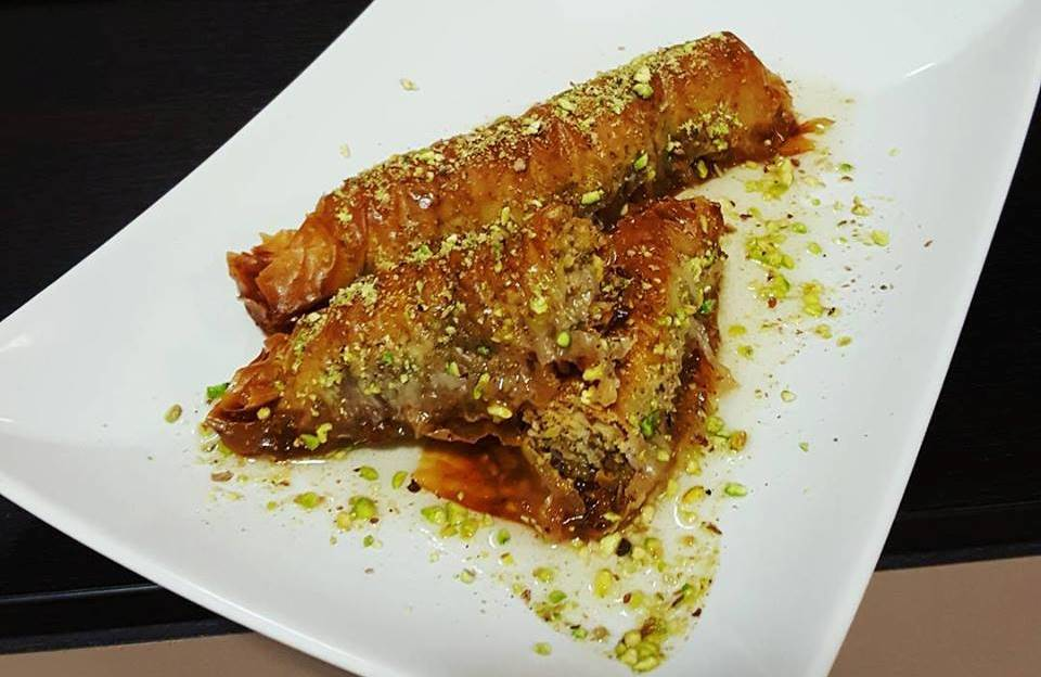 Sarailie cu nucă și fistic - cel mai bun desert turcesc