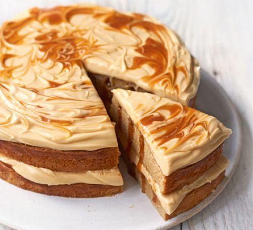 Cremă de caramel și mascarpone pentru prăjituri și torturi
