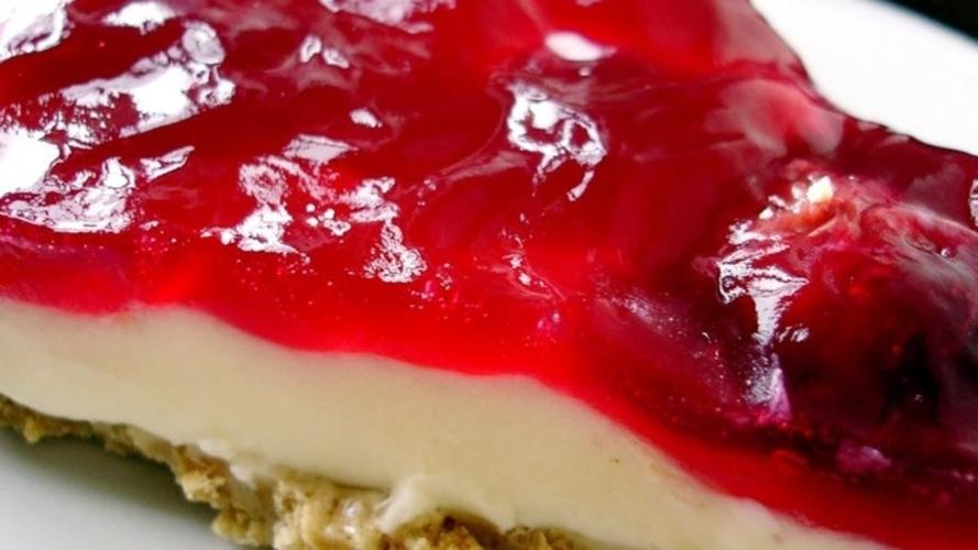 Cheesecake cu cirese - fara coacere
