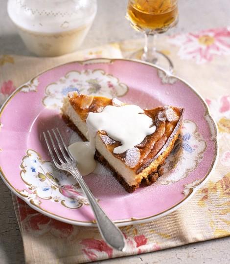Cheesecake Italian Cu Migdale