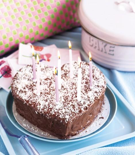 Tort De Ciocolata Si Cocos