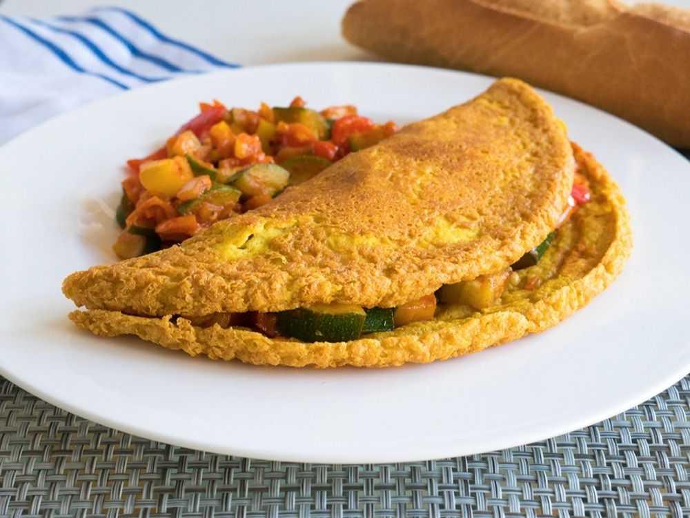 Omletă fără ouă - micul dejun perfect, de post