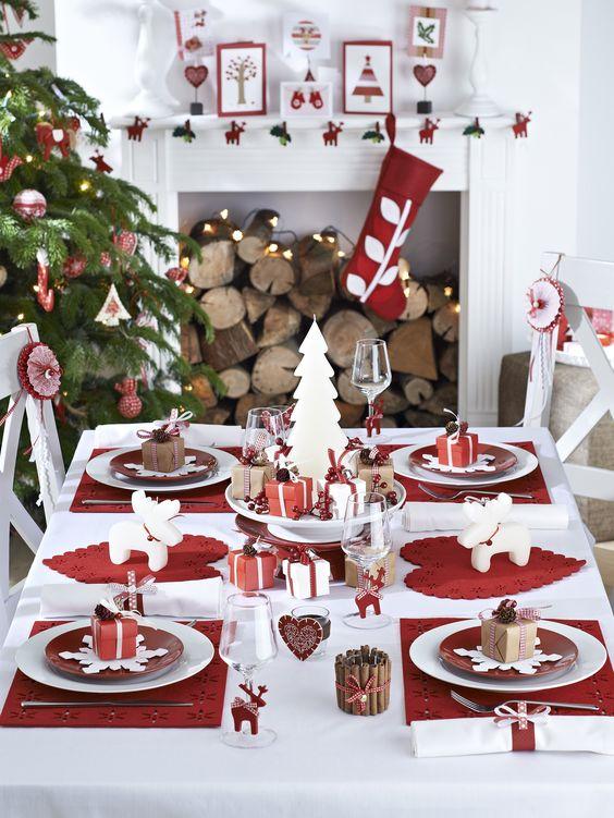 25 de feluri în care poți aranja masa de Crăciun, cu care îți vei impresiona prietenii