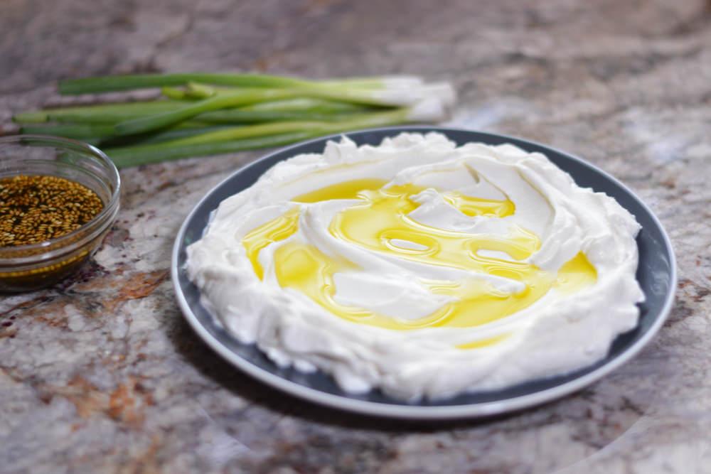 Labneh - cremă libaneză de iaurt