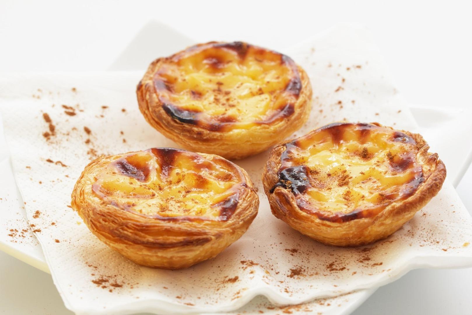 Pastéis de nata - tarte portugheze
