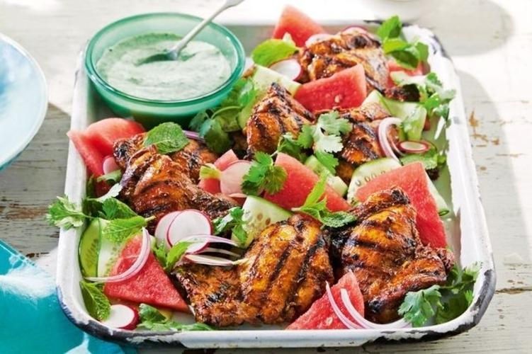 Salata De Pui Cu Pepene