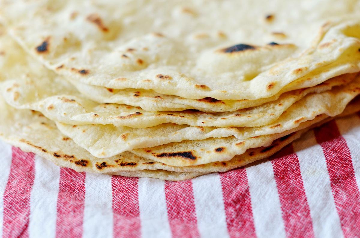 Tortillas făcute în casă