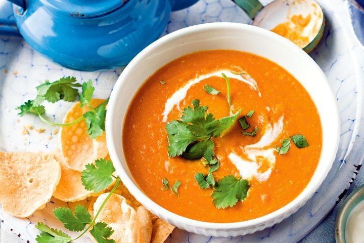 Supă cremă de linte - rețeta originală