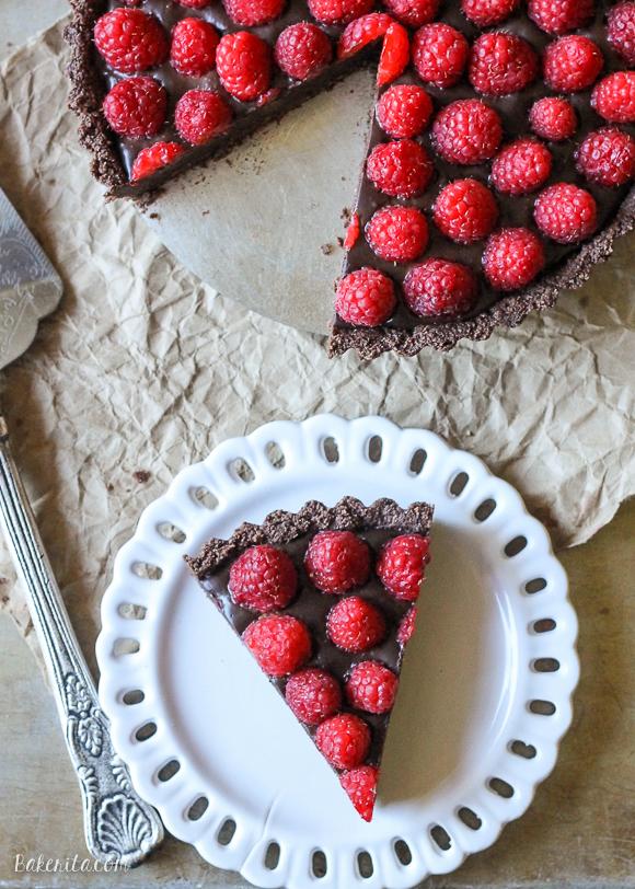 Tarta Cu Ciocolata Si Zmeura - Fara Coacere