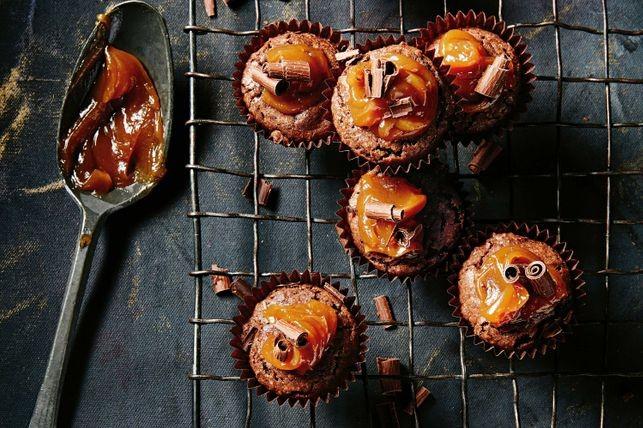 Muffins cu cremă de caramel