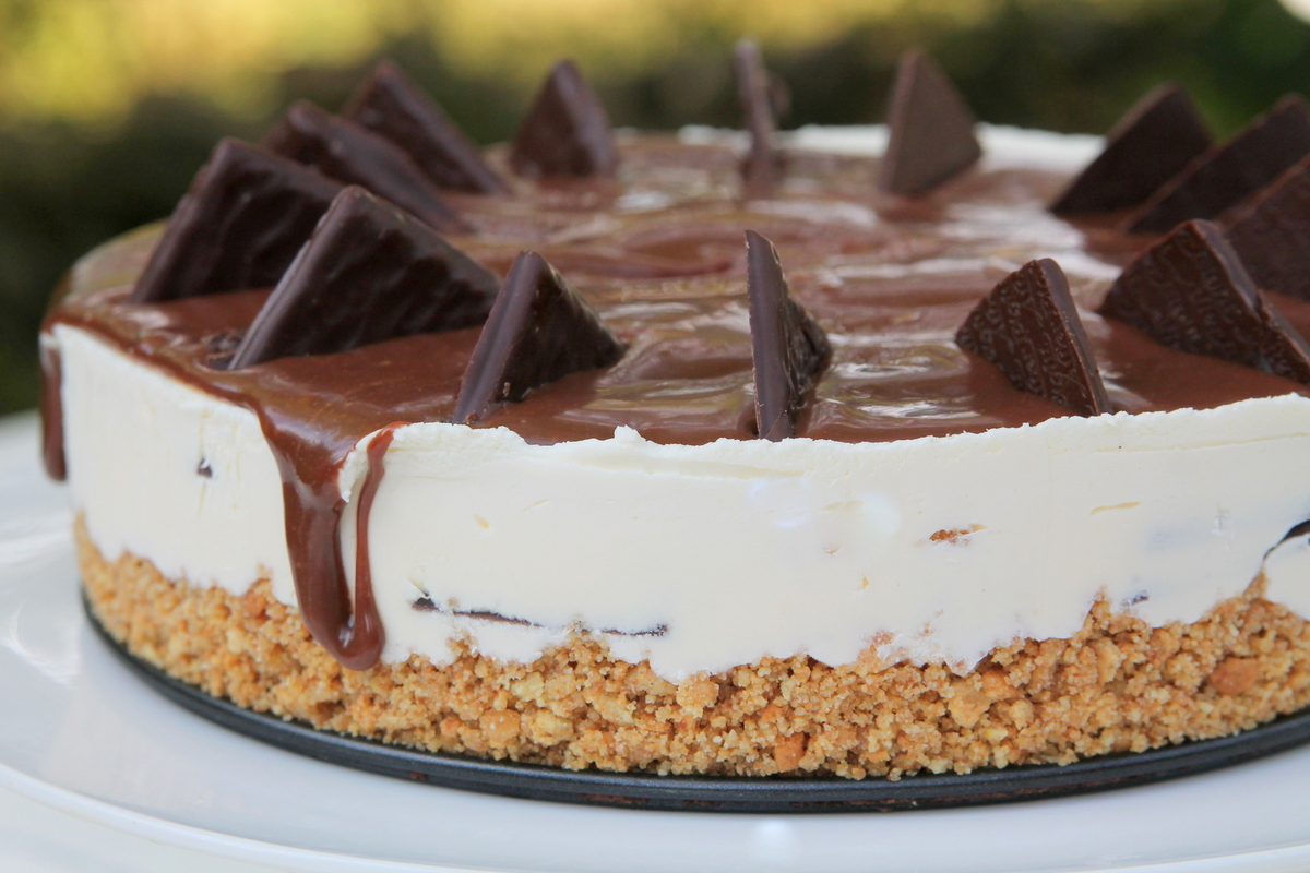Cheesecake After Eight - fara coacere