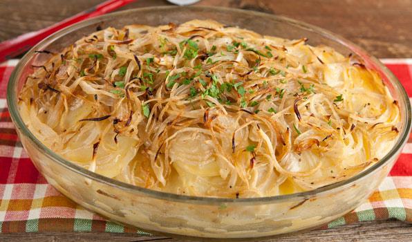 Cartofi Boulangère