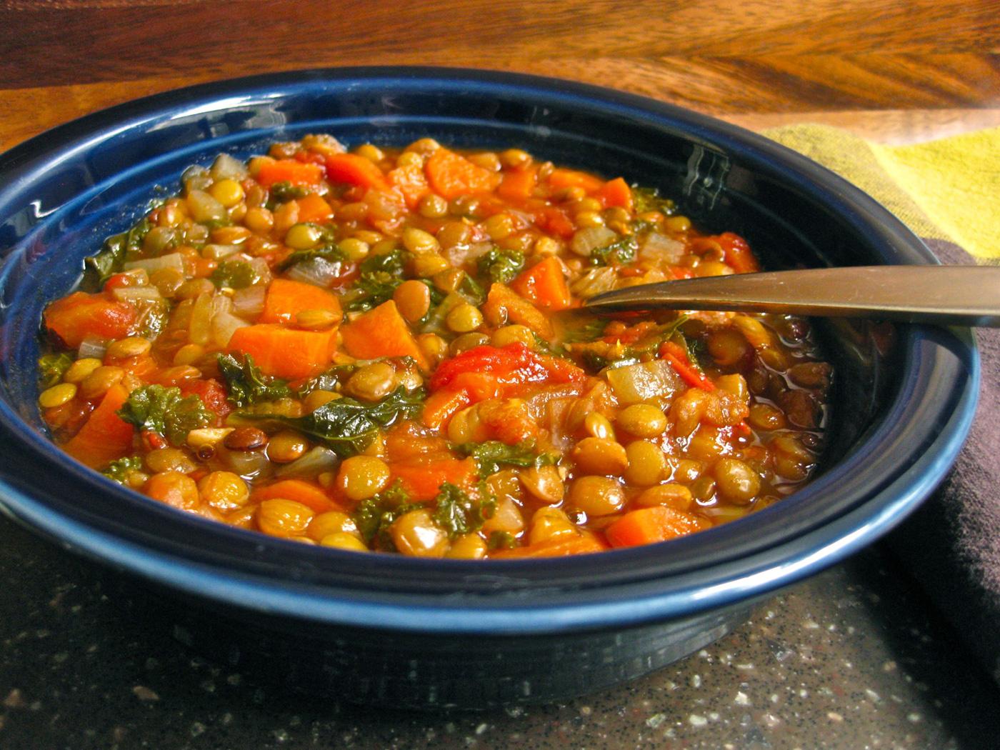 Supa de linte cu legume