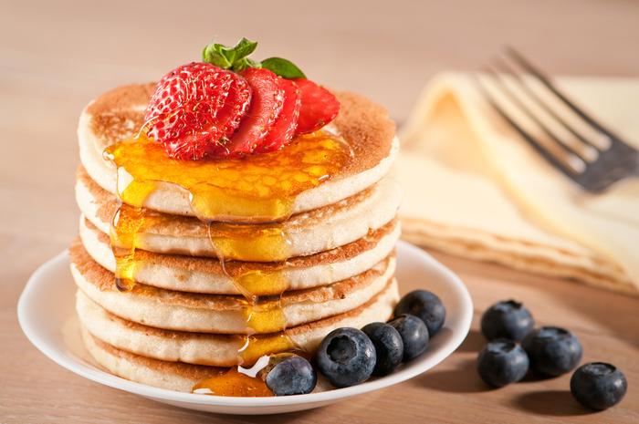 Clătite americane (pancakes) pufoase și rapide