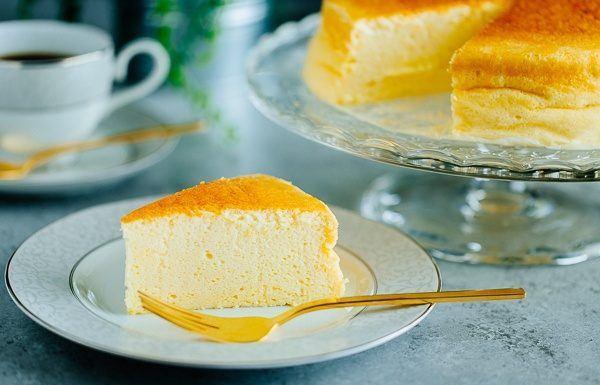 Cheesecake japonez - cel mai pufos și aerat desert