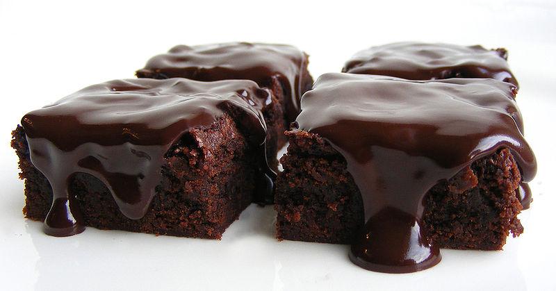 Negresă de post cu glazură de cacao