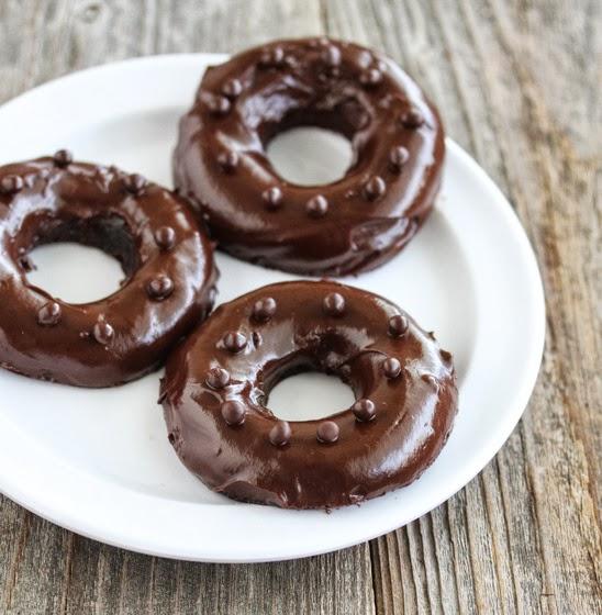 Gogoși cu ciocolată la microunde