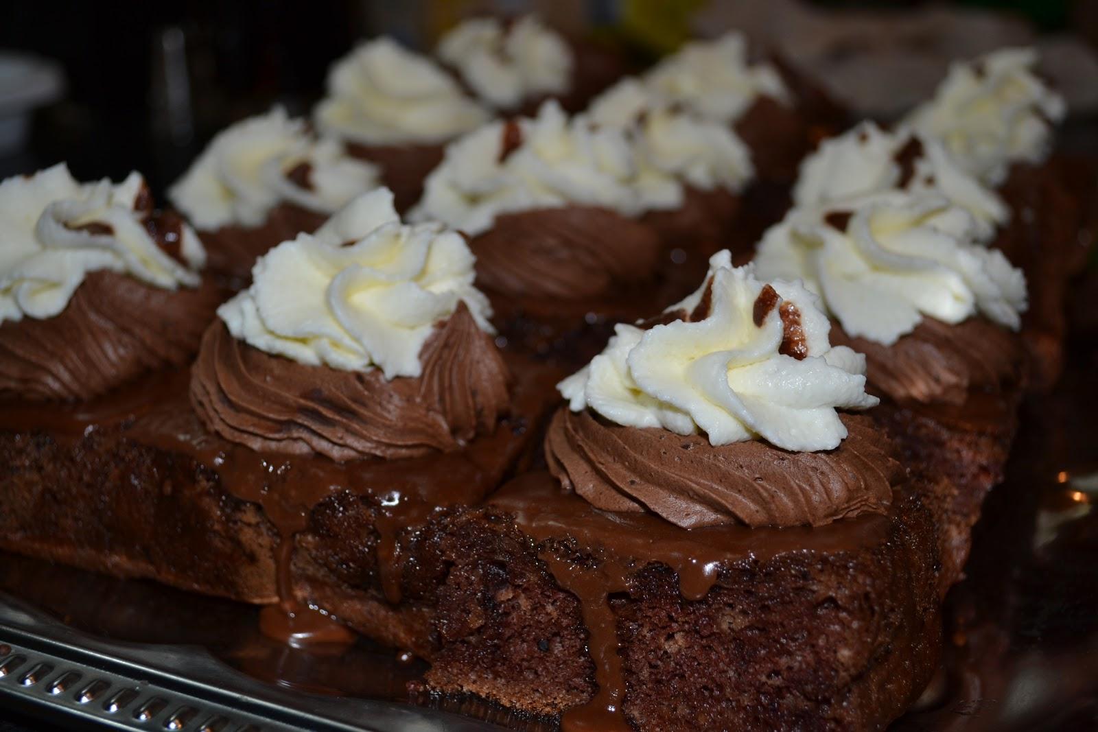 Prăjitura Boema - rețetă de cofetărie