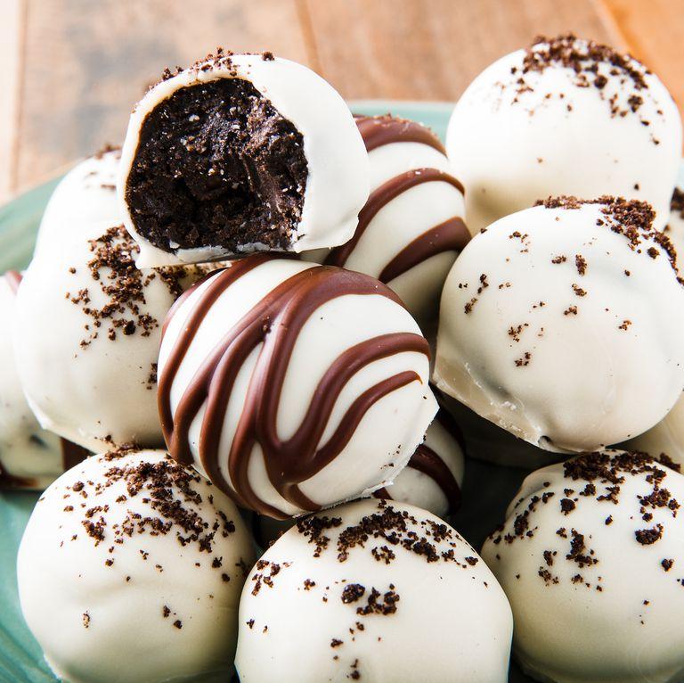 Trufe Oreo cu ciocolată albă