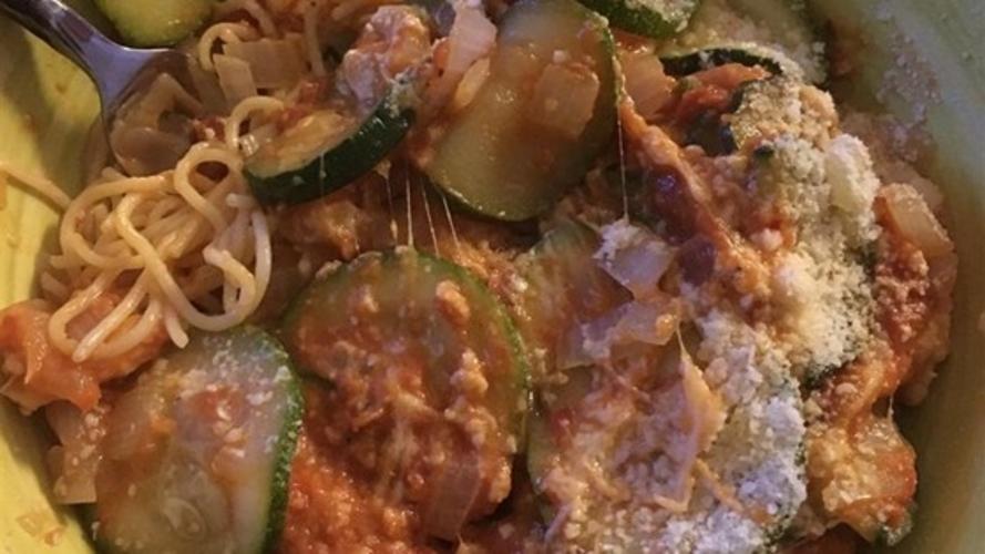 Zucchini Cu Parmezan