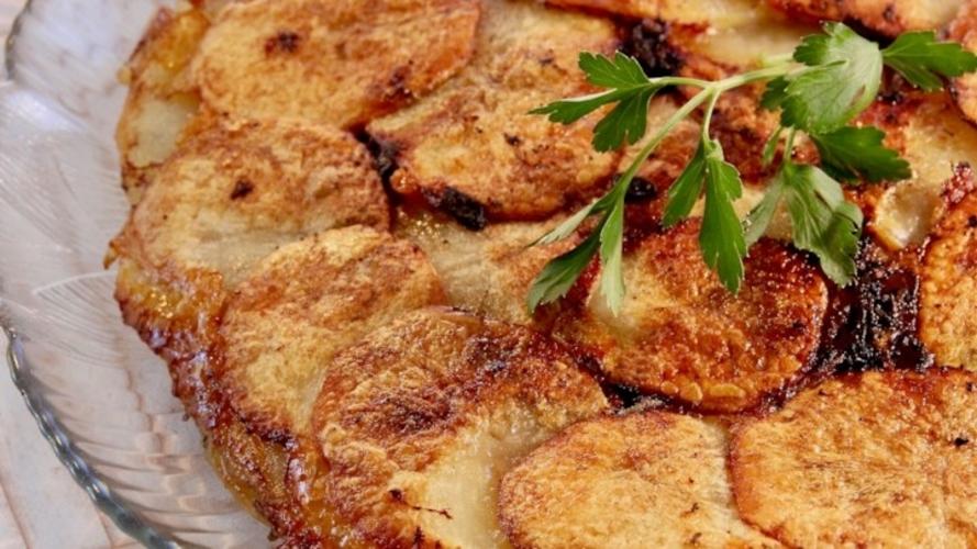 Cartofi cu branza Gruyere