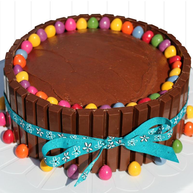 Tort de ciocolată Kit Kat