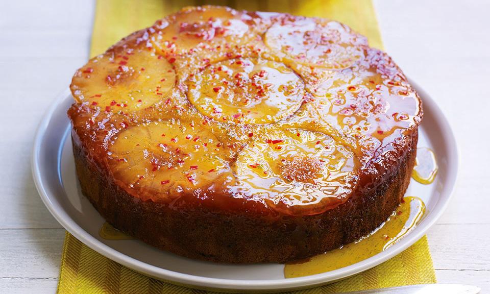 Prajitura cu ananas si chilli