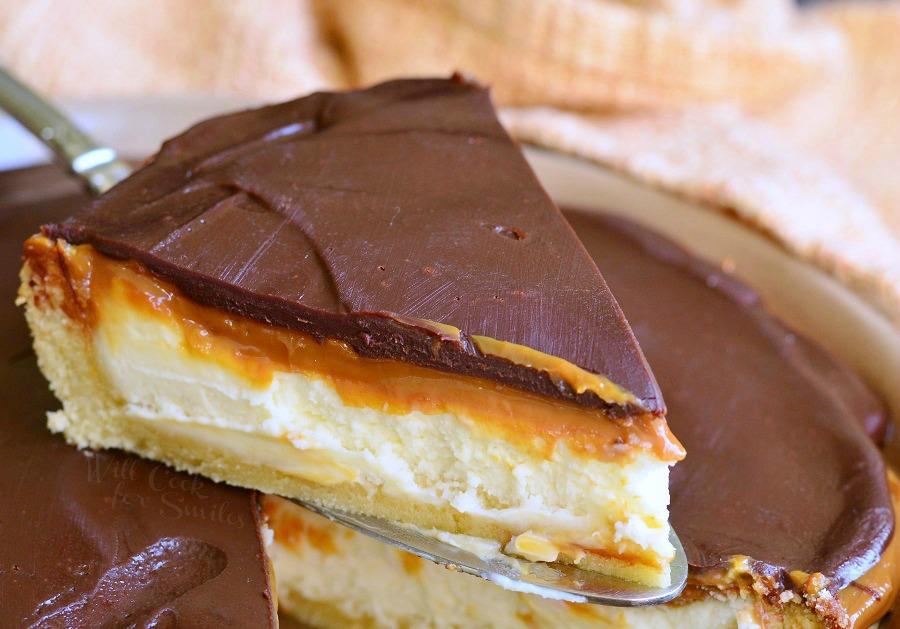 Cheesecake Twix