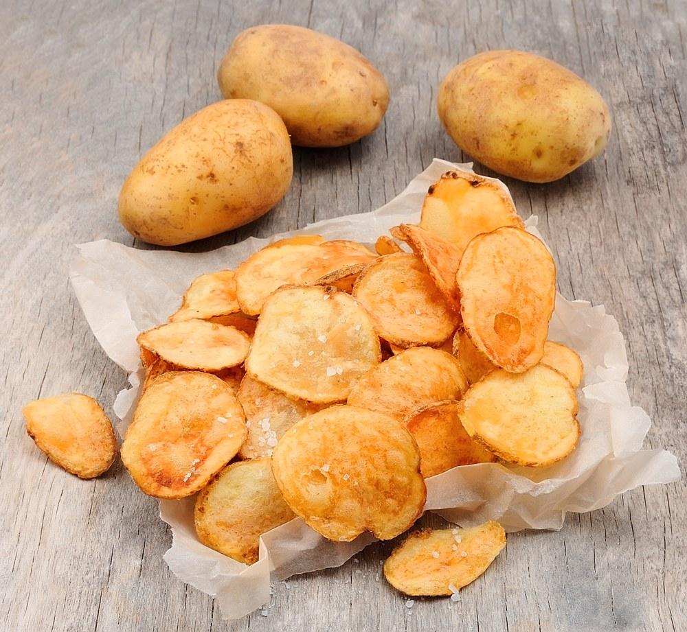 Chips-uri de casă - crocante și sănătoase