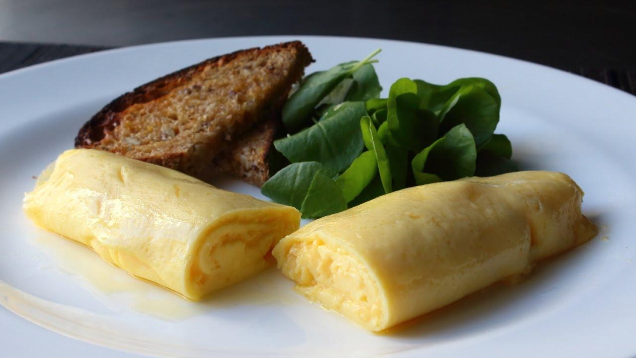 Omletă franțuzească - cea mai fină și cremoasă omletă din lume