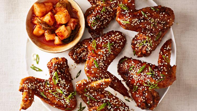 Aripioare de pui în stil coreean