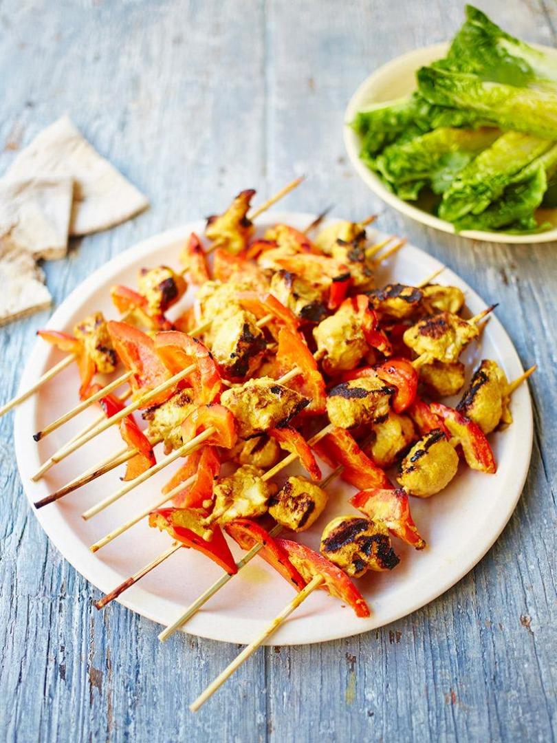 Kebab de pui cu iaurt și condimente