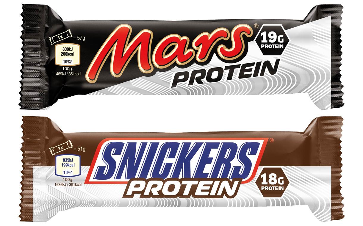 Snickers produce batoane cu proteine