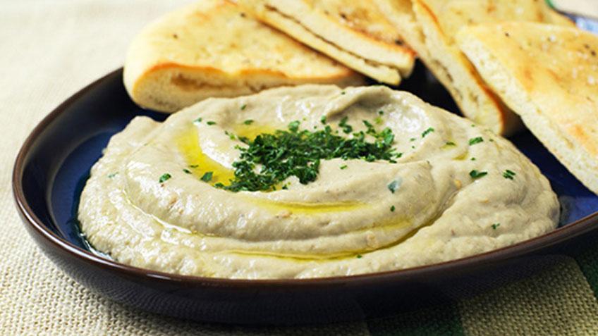 Melitzanosalata - salată de vinete în stil grecesc