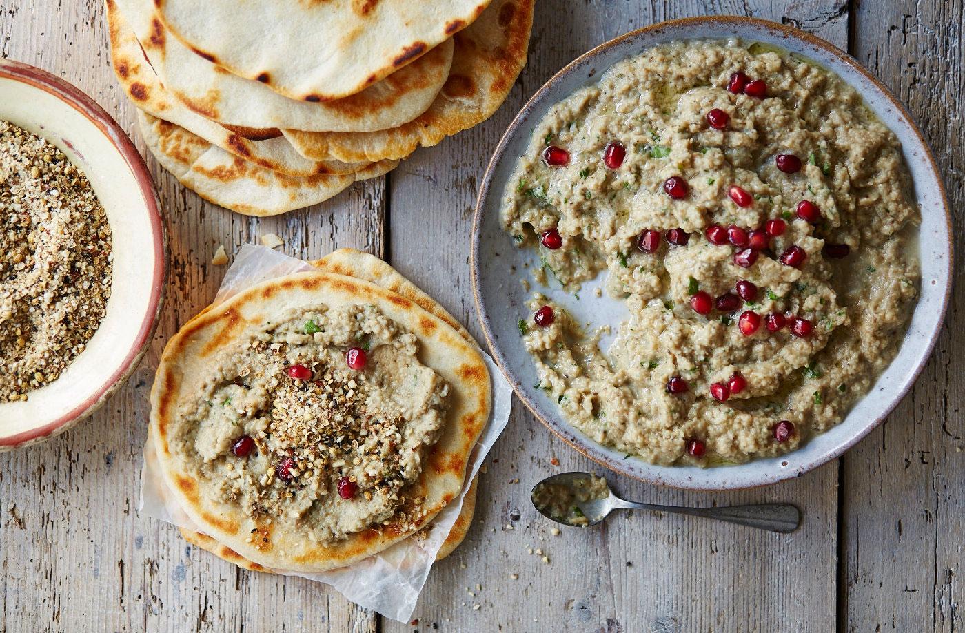 Baba Ghanoush - salată de vinete arăbească