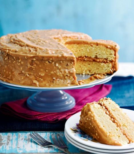 Tort Caramel Cu Alune