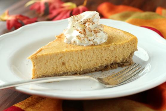 Cheesecake cu piure de dovleac