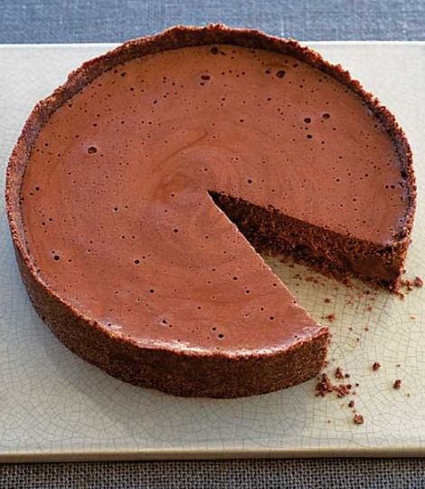 Tort Cu Mousse De Ciocolata