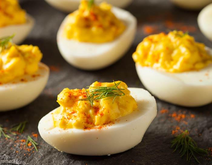 Ouă umplute - cea mai rapidă și gustoasă rețetă