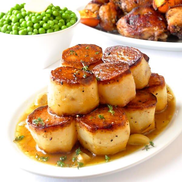 Cartofi fondanți la cuptor