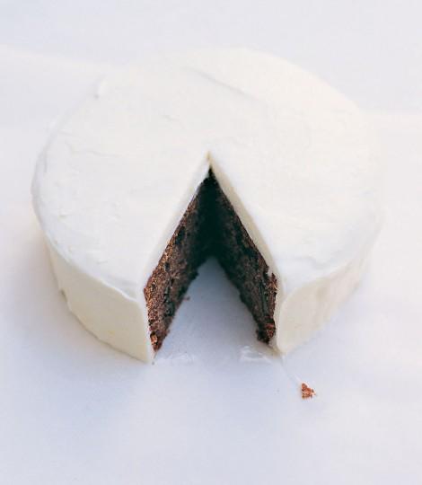 Tort De Morcovi Cu Glazura De Crema De Branza