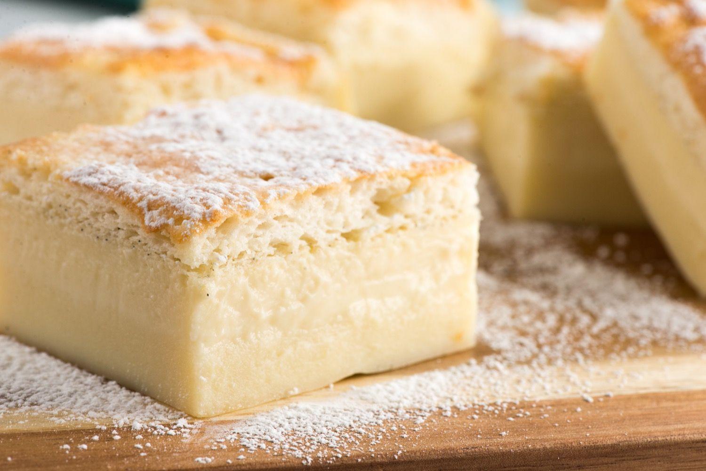 Prăjitură MAGICĂ cu vanilie