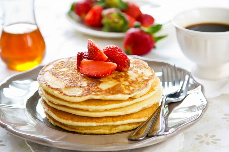 Pancakes simple, din 3 ingrediente
