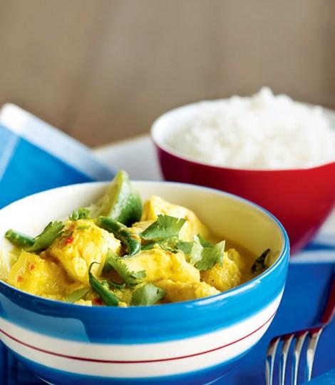 Peste Cu Curry