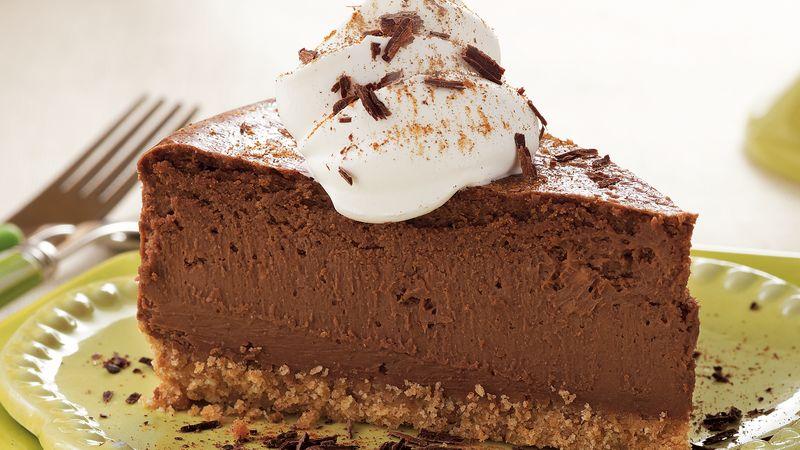 Cheesecake de ciocolată