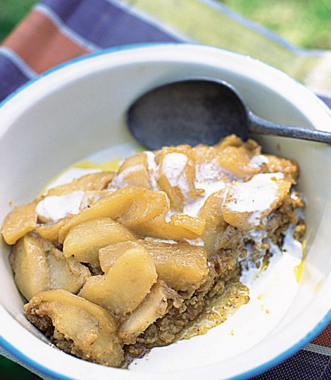 Tarta Toffee De Mere, Fara Coacere