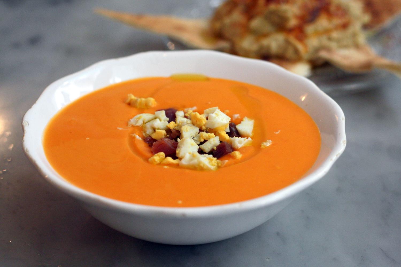 Salmorejo - supă de roșii în stil spaniol